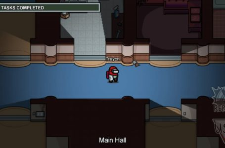 How to complete all Main Hall tasks on Airship in Among Us
