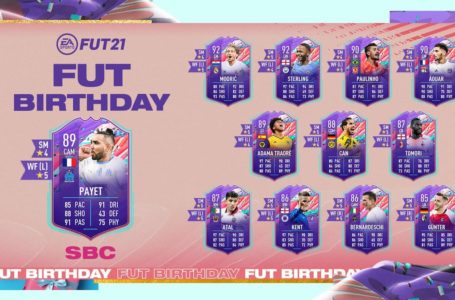 FIFA 21: How to complete FUT Birthday Dimitri Payet SBC – Requirements and solutions