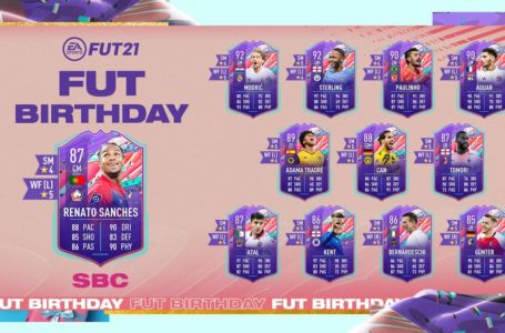 FIFA 21: How to complete FUT Birthday Renato Sanches SBC – Requirements and solutions