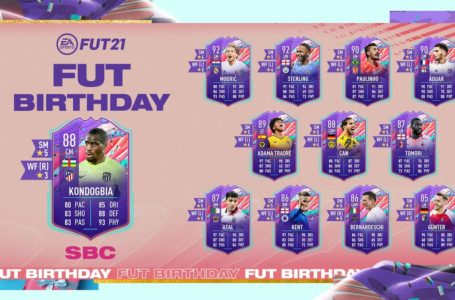 FIFA 21: How to complete FUT Birthday Geoffrey Kondogbia SBC – Requirements and solutions