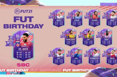 FIFA 21: How to complete FUT Birthday Jeremiah St. Juste SBC – requirements and solutions