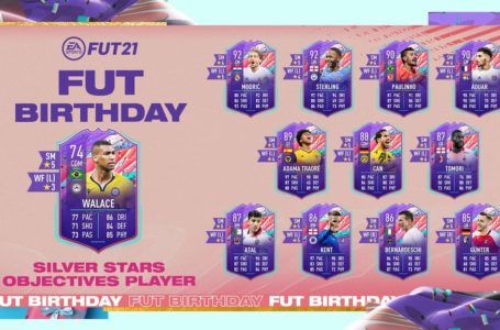 FIFA 21: How to complete FUT Birthday Silver Stars Walace Objectives challenge
