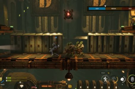 How to hide Mudokens in lockers in Oddworld: Soulstorm