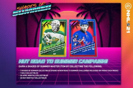 NHL 21: How to complete HUT Shades of Summer master sets
