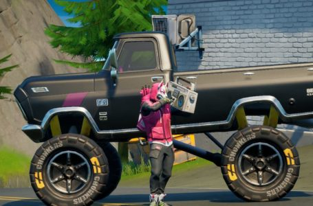 How to modify a vehicle with Off-Road Tires in Fortnite Chapter 2 Season 6