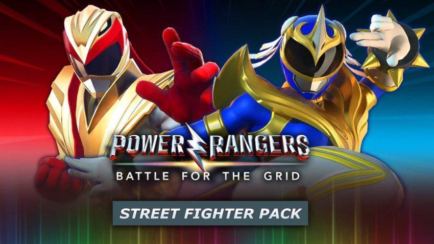 Power Rangers: Battle for the Grid Street Fighter