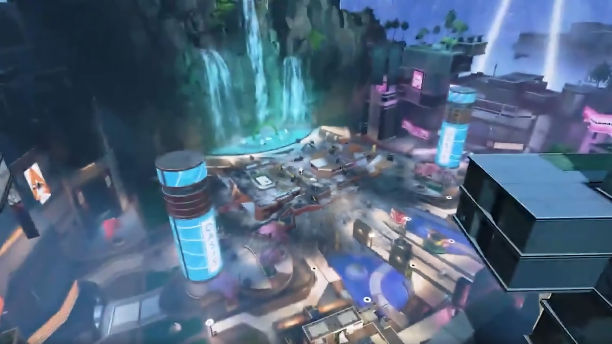 Where To Spot Season 9 Legend Valk In The Apex Legends Olympus Map Update Reveal Gamepur