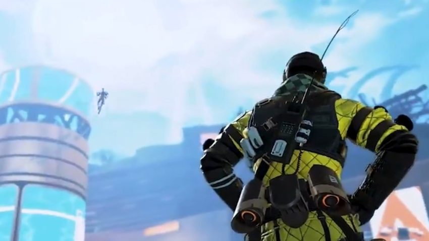 Valk in the sky