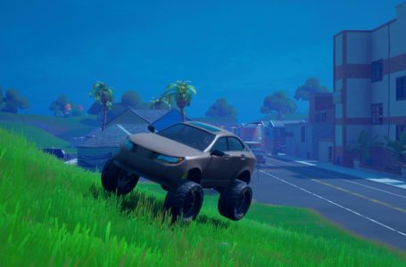 Drive from Sweaty Sands to Colossal Crops without leaving the vehicle in Fortnite