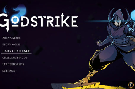 What is the daily challenge mode in Godstrike?