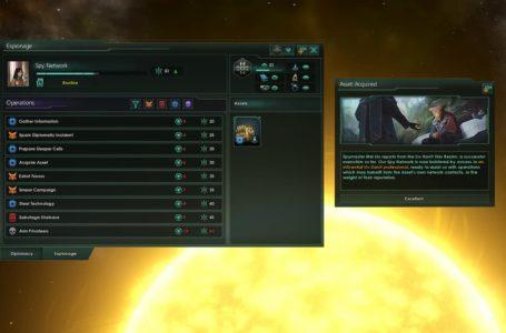How espionage works in Stellaris
