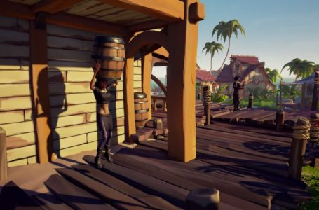 How to use the Barrel Disguise emote in Sea of Thieves