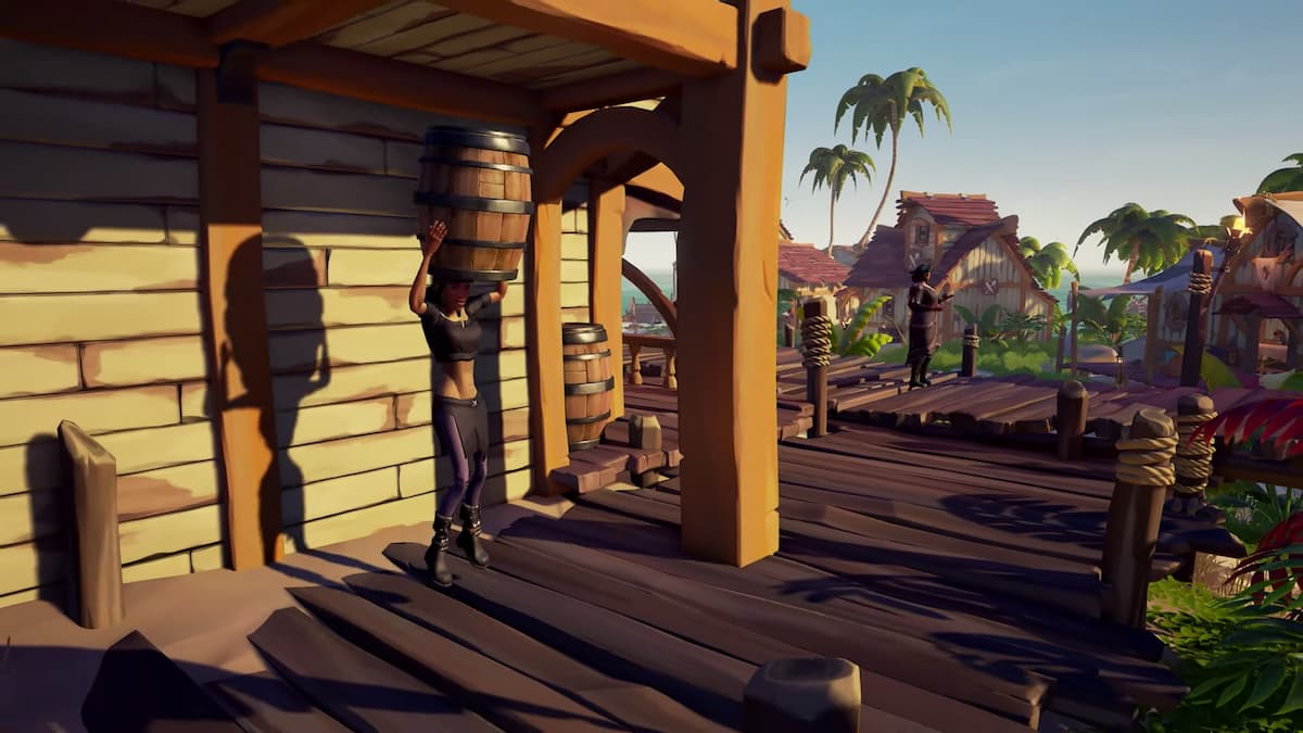 Sea of Thieves Season Two Barrel Disguise