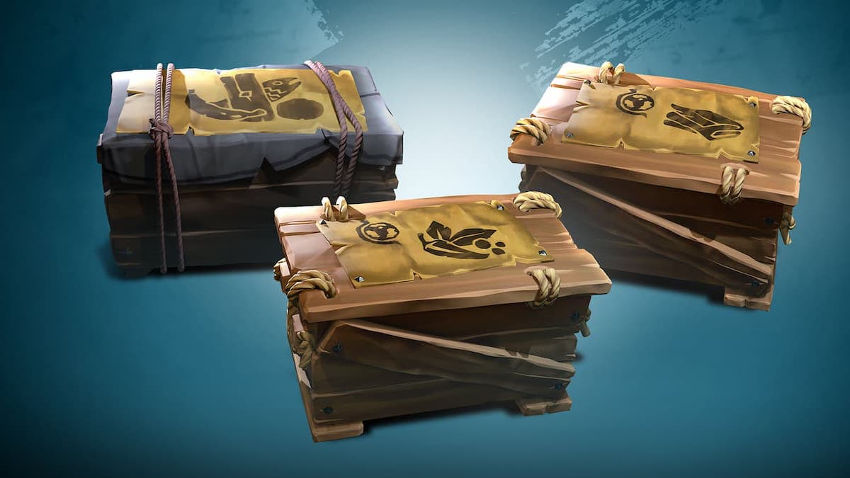 Sea of Thieves Season Two Commodity Crates Trade Routes