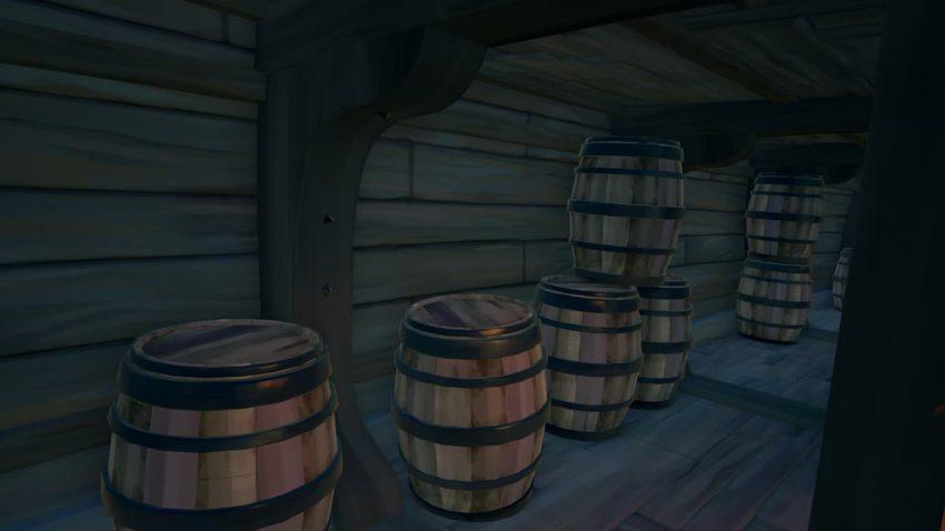 Sea of Thieves Barrel Disguise emote