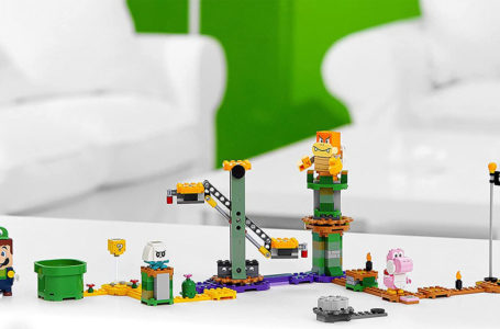 Luigi addition to Lego Super Mario range confirmed through retail leak