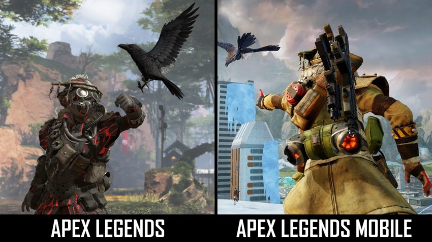 Apex Legends Mobile graphics comparison