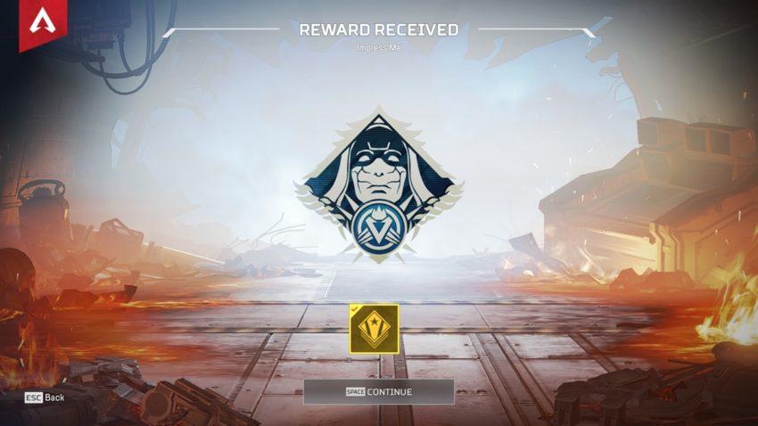 Impress Me badge