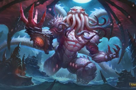 The best build for Cthulhu in Smite