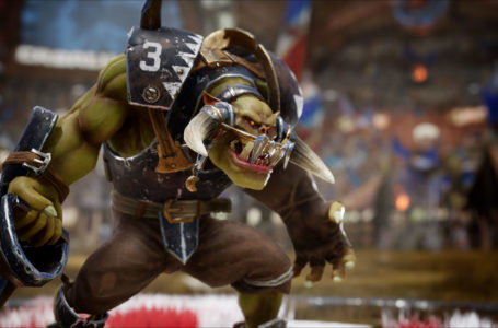 Black Orcs are invading the pitch in Blood Bowl 3