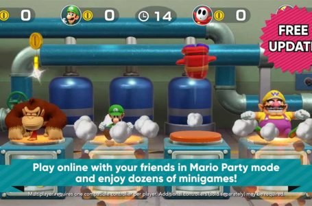 Super-charged Super Mario Party update adds online play