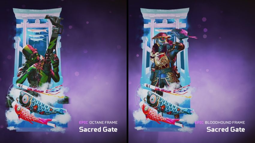 Sacred Gate (both versions)