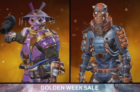 All Golden Week Sale Legend skins and cosmetics in Apex Legends