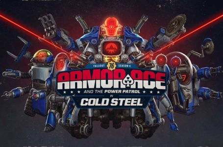 Best battle pass rewards in Fallout 76 Season 4: Armor Ace in Cold Steel