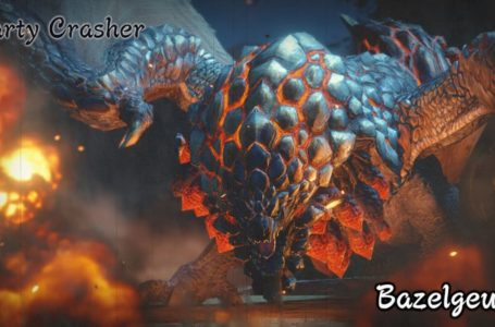All Bazelgeuse weaknesses, attacks, and material drops in Monster Hunter Rise