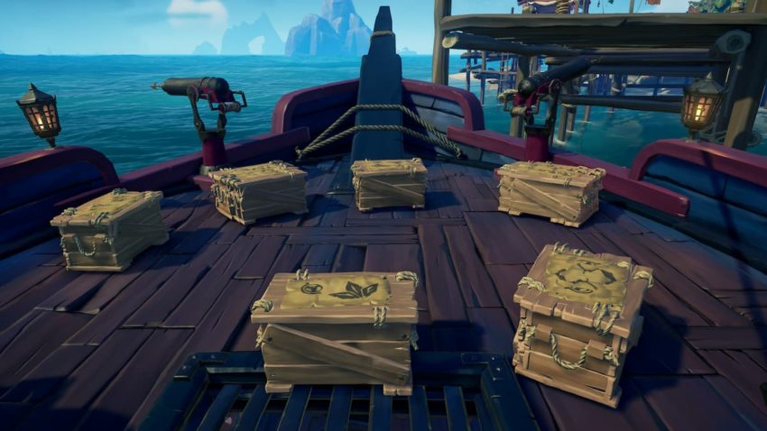 Sea of Thieves Trade Routes Commodity Crates