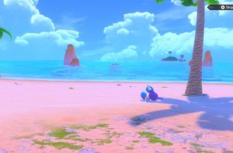 All Blushing Beach Pokémon in New Pokemon Snap