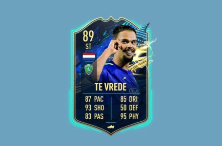 FIFA 21: How to complete TOTS Mitchell te Vrede Objectives Challenge