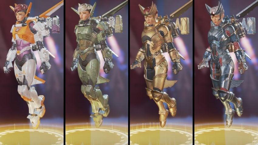 Valkyrie Standard Legendary skins