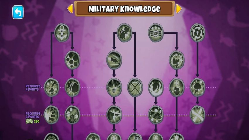 Best Military Monkey Knowledge in Bloons TD 6