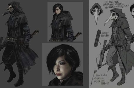 Resident Evil Village concept art reveals Ada Wong as a cut character