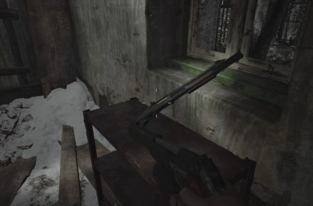 Where to find the W870 TAC Shotgun in Resident Evil Village