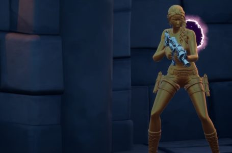 How to get the Lara Croft Gold Anniversary Skin in Fortnite