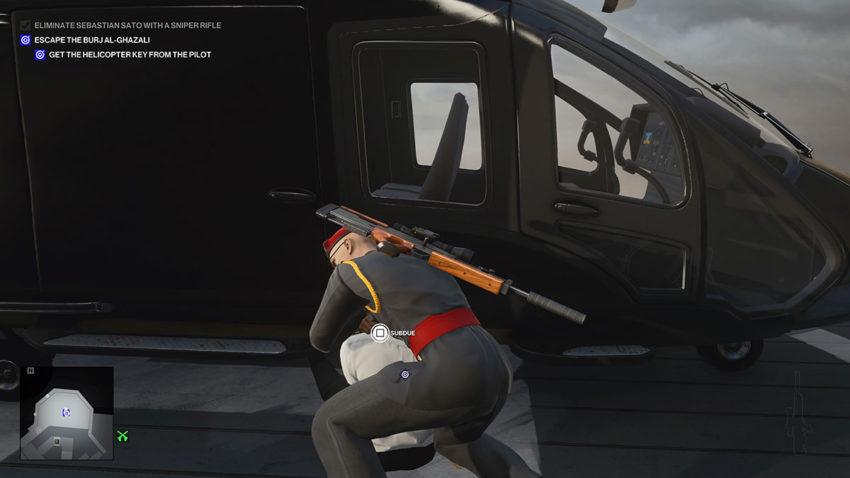 subdue-helicopter-pilot-hitman-3