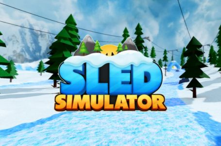 Roblox Sled Simulator codes (May 2021)