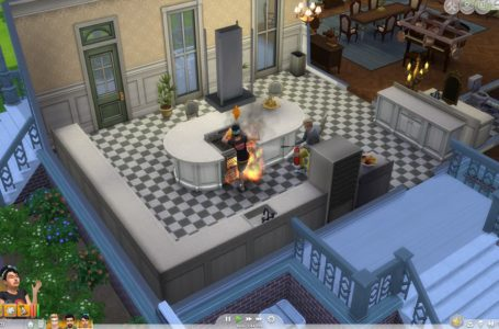 How to make and extinguish fire in Sims 4