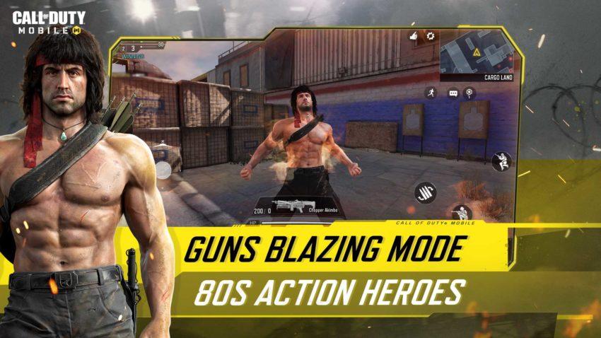COD Mobile Guns Blazing mode