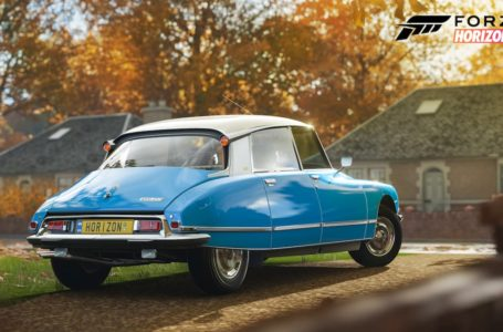 Forza Horizon 4: How to get the 1975 Citroen DS 23