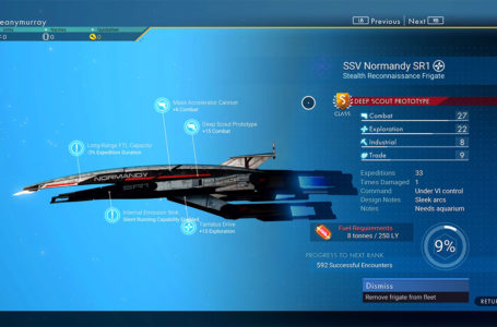 How to unlock Normandy SR1 Mass Effect Frigate in No Man's Sky