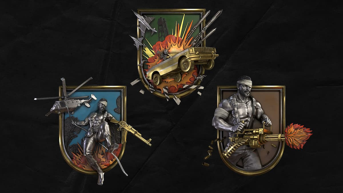 Call of Duty: Black Ops Cold War 80s Action Heroes Medals
