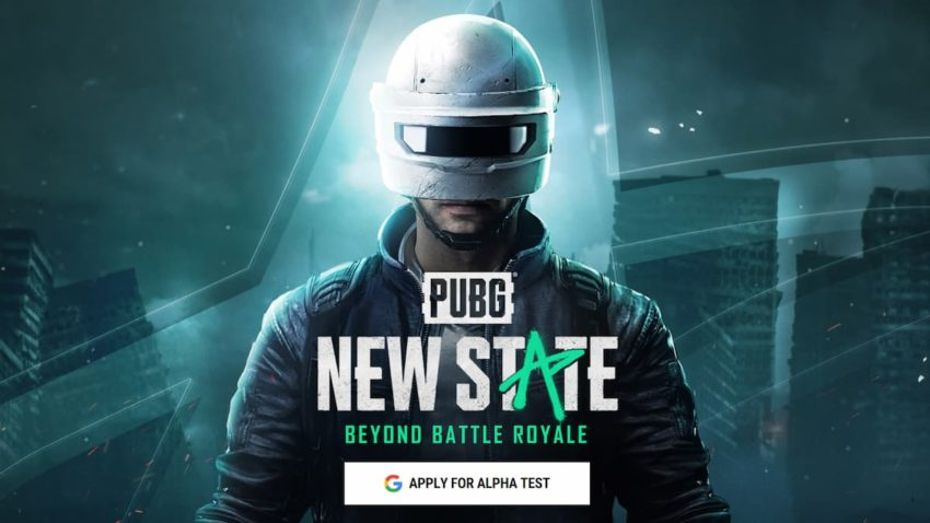 PUBG New State Closed Alpha Register