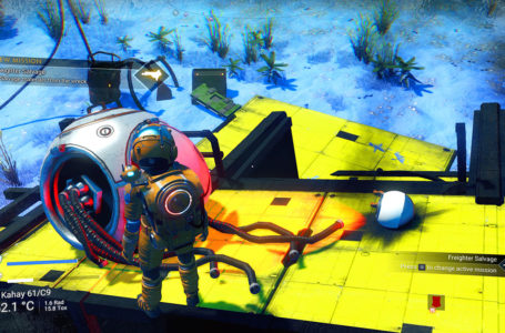 How to find a Freighter crash site in No Man's Sky