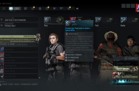 How to customize your teammates in Ghost Recon: Breakpoint