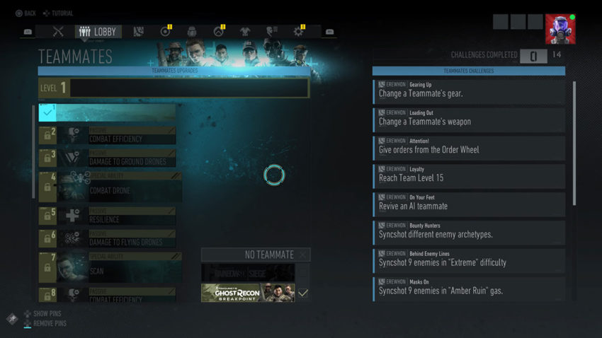 how-to-earn-teammate-upgrades-in-ghost-recon-breakpoint