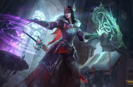 The best build for Morgan Le Fay in Smite