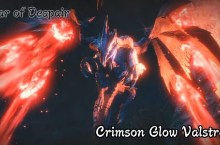 All Crimson Glow Valstrax weaknesses, attacks, and material drops in Monster Hunter Rise